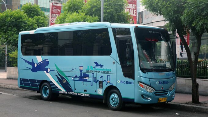 Big Bird Shuttle Bus Bandara Soekarno Hatta